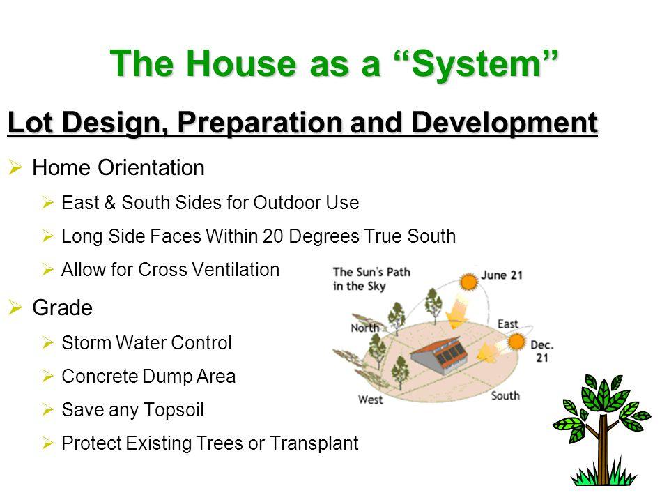 The House as a System Global Impact  Geothermal Systems  Pump & Dump  Horizontal Loop  Vertical Loop