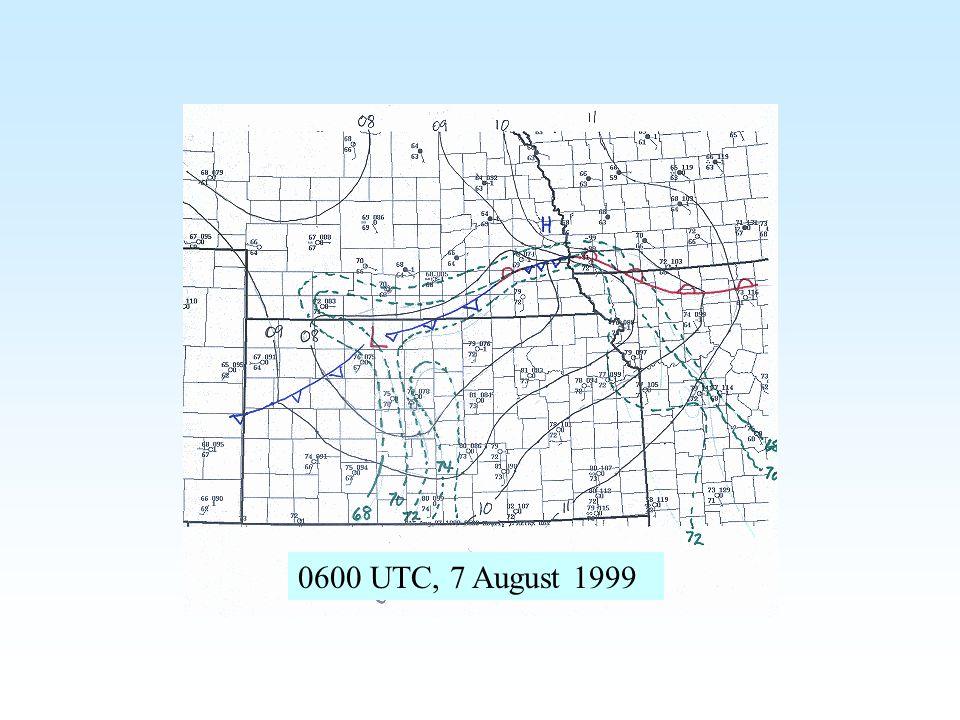 0600 UTC, 7 August 1999