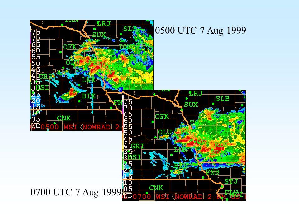 0500 UTC 7 Aug 1999 0700 UTC 7 Aug 1999
