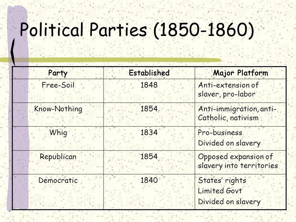 Lincoln-Douglas Debates Senate Race 1858: Stephen Douglas (Democrat) and Abraham Lincoln (Republican) Debate over slavery: neither man favored slavery, so how argue it.