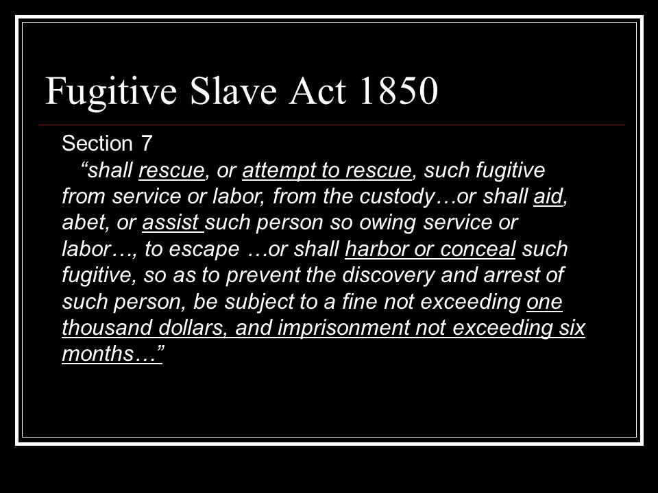 Fugitive Slave Ad