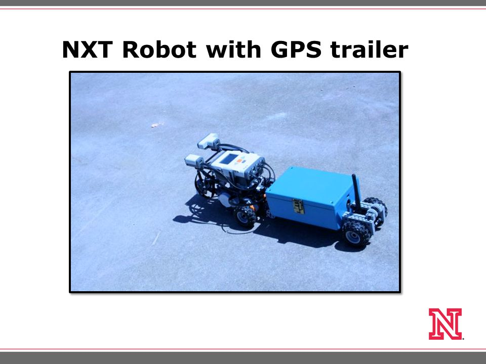 NXT Robot with GPS trailer