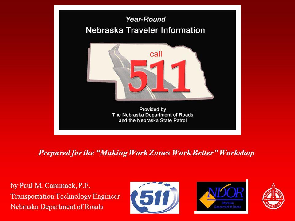 Nebraska's 511 Web Hits