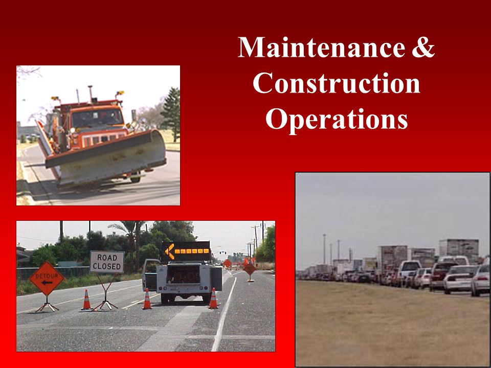 Lessons Learned Your road condition reporting system must be accurate, timely and reliable.
