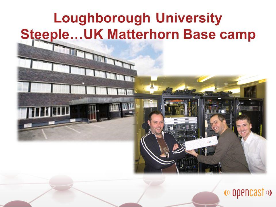 Loughborough University Steeple…UK Matterhorn Base camp