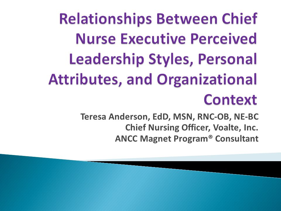 Teresa Anderson, EdD, MSN, RNC-OB, NE-BC Chief Nursing Officer, Voalte, Inc.