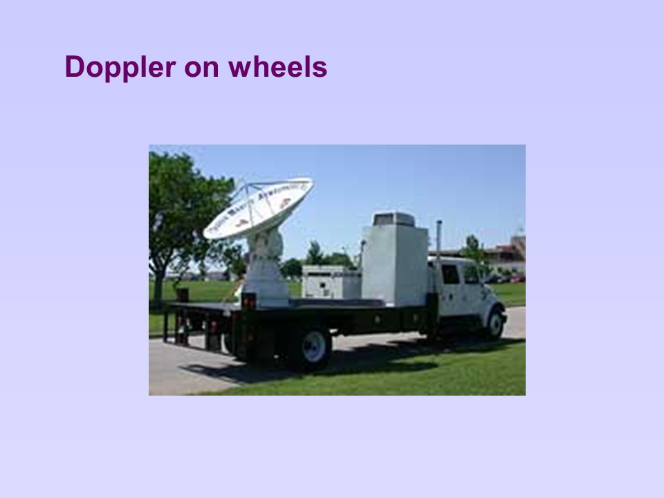 Doppler on wheels