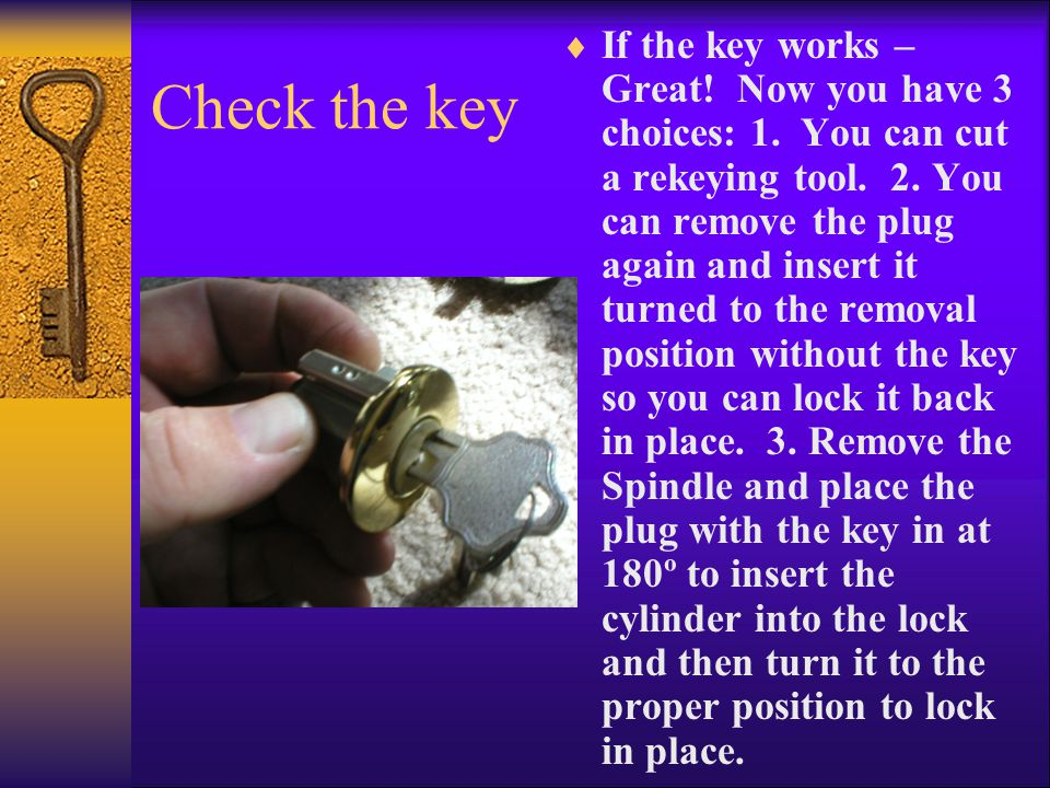 Check the key IIf the key works – Great. Now you have 3 choices: 1.