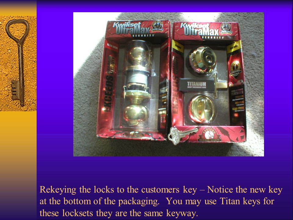 Removed from boxed packaging  Here we have the lockset out of the box packaging notice the bubble pack.