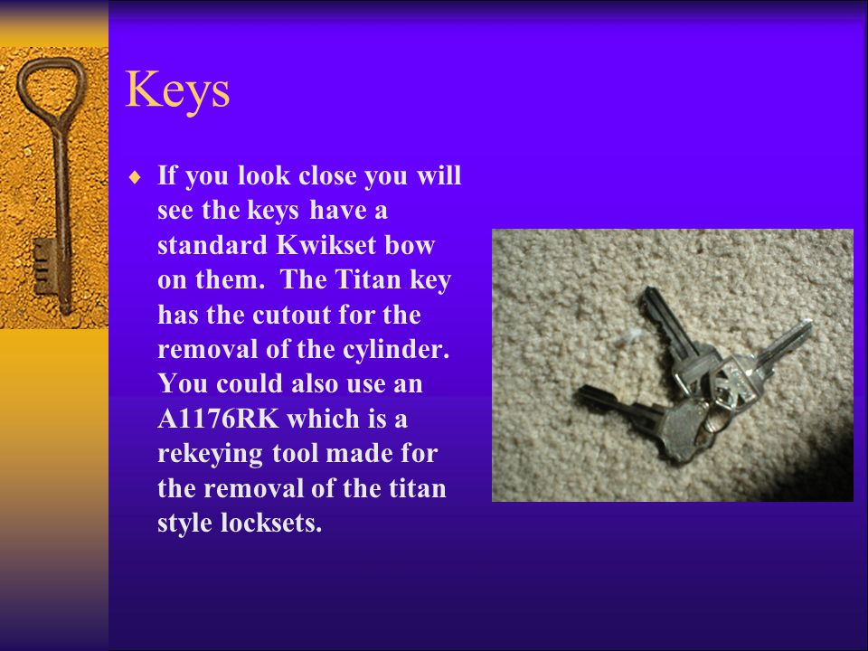 To begin with insert the removal tool or prepared key into the plug.