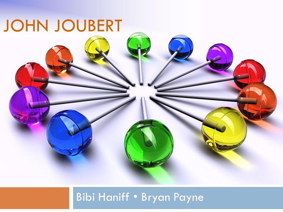 JOHN JOUBERT Bibi Haniff Bryan Payne