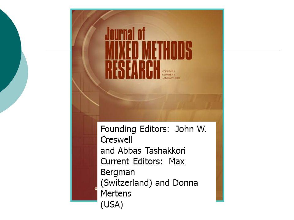 Founding Editors: John W.