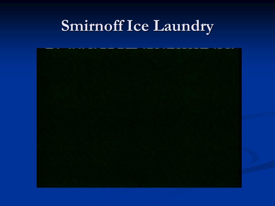 Smirnoff Ice Laundry