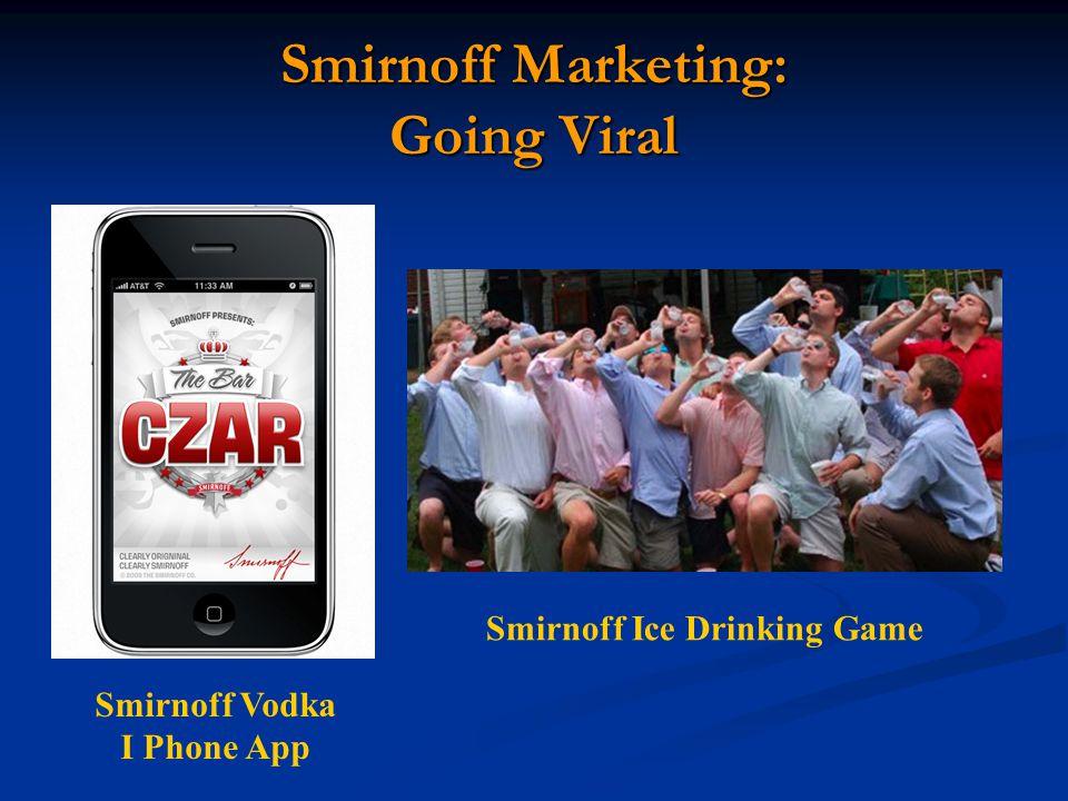 Smirnoff Marketing: Going Viral Smirnoff Vodka I Phone App Smirnoff Ice Drinking Game