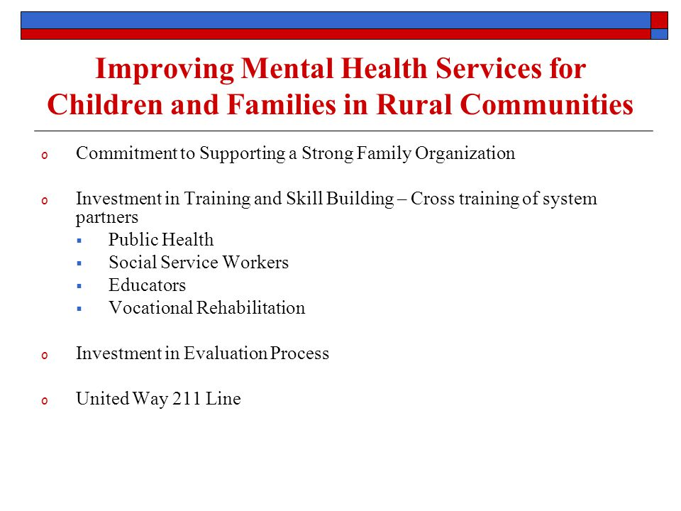 System Partners Key System Partners Region 3 Behavioral Health Services NE Department of Health and Human Services Families CARE Supporting members of the System of Care  Providers: Community-based providers necessary to meet children, youth and families needs.