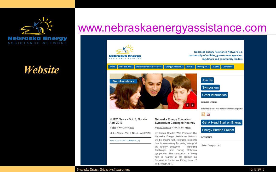 5/17/2013 Nebraska Energy Education Symposium Website www.nebraskaenergyassistance.com