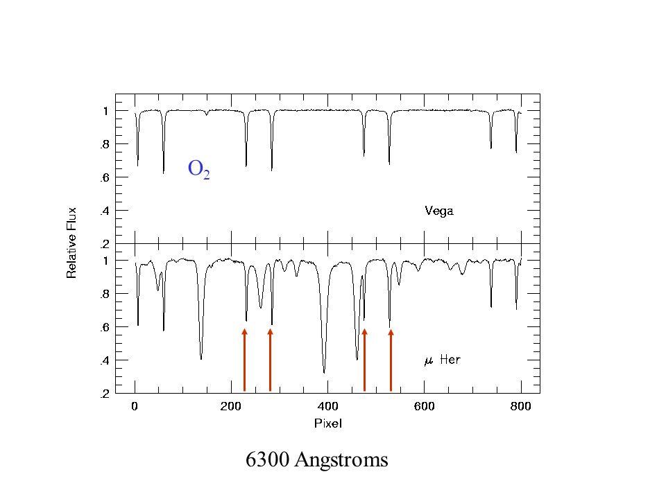 O2O2 6300 Angstroms