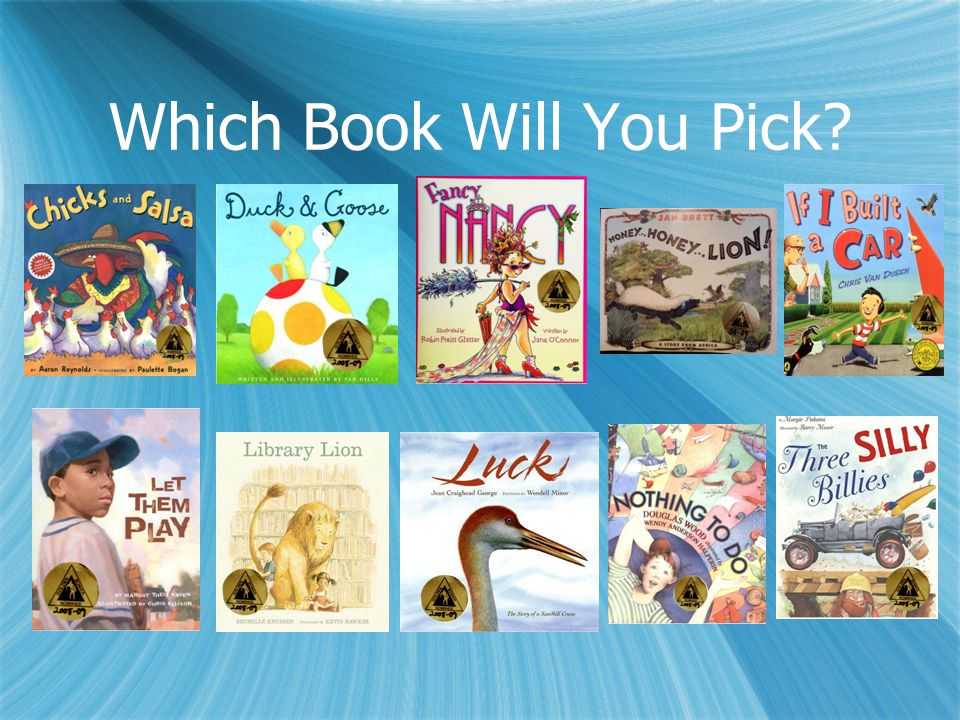 Which Book Will You Pick?