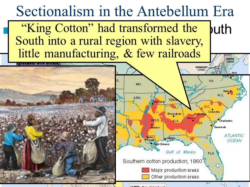 ■Essential Question ■Essential Question: –How did westward expansion increase sectional tensions between the North & South from 1820-1850? ■Warm-Up Qu