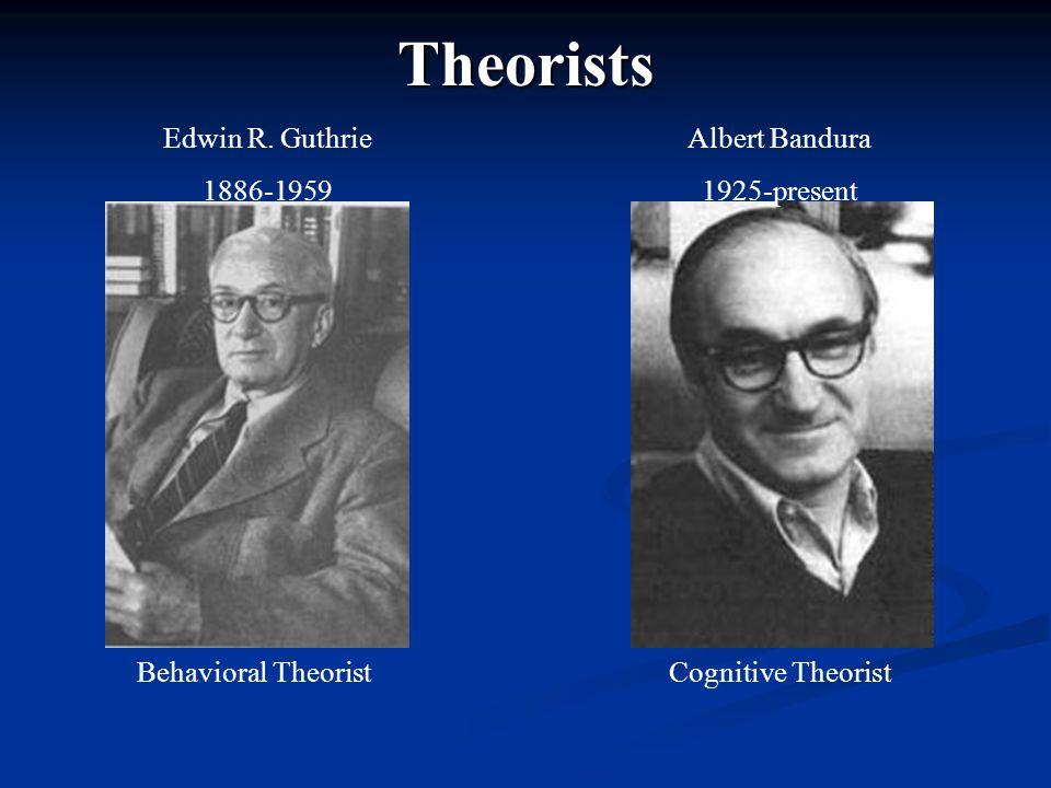Theorists Edwin R.