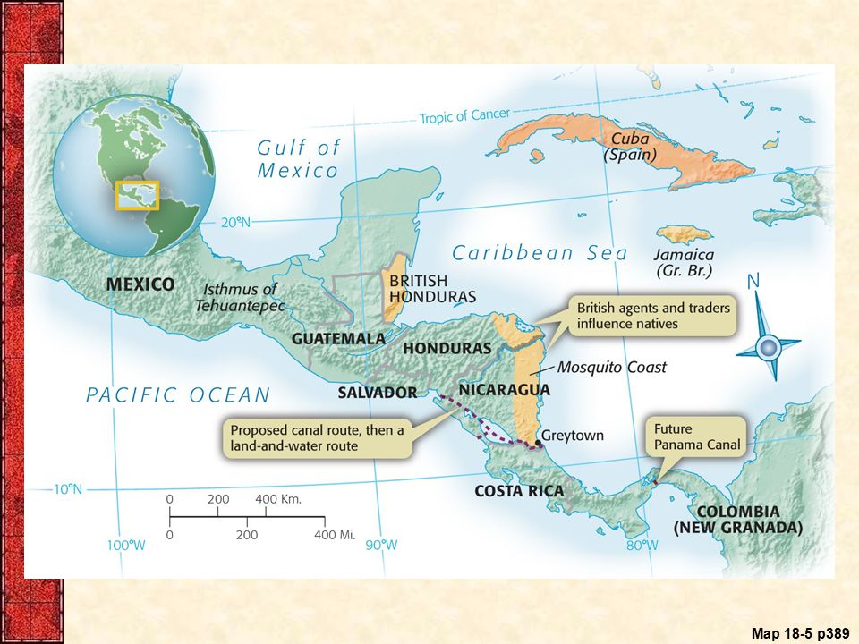 Map 18-5 p389