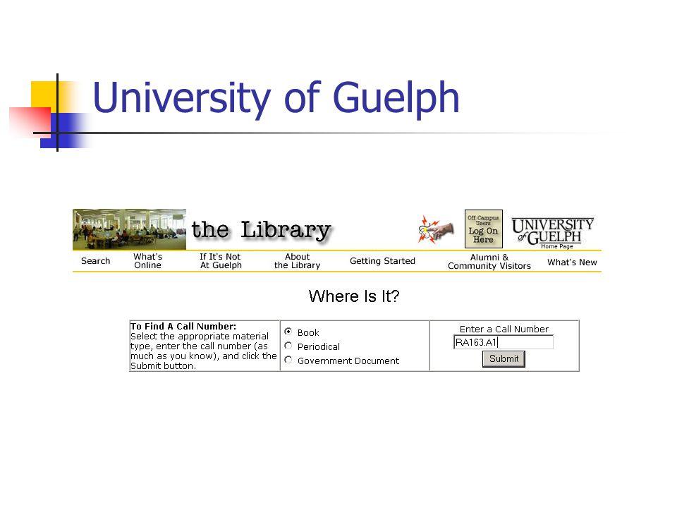 University of Guelph