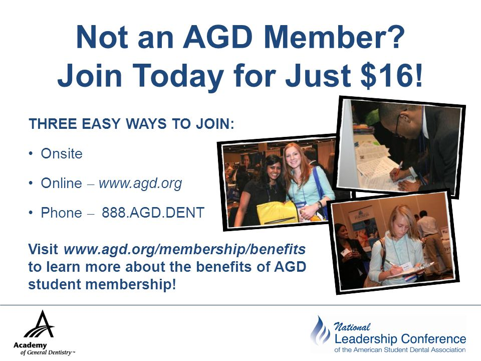 Not an AGD Member. Join Today for Just $16.