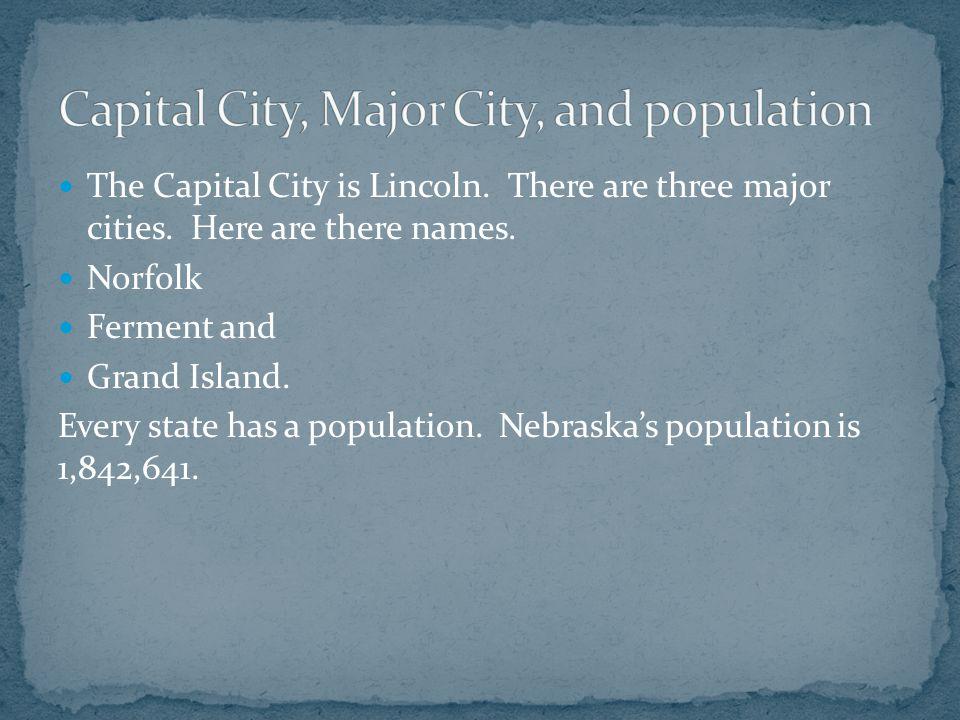 Nickname and Region Nebraska has a very funny nickname.