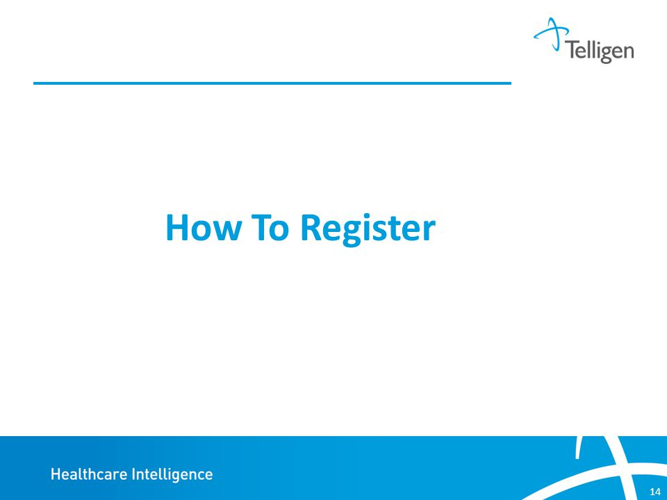 14 How To Register