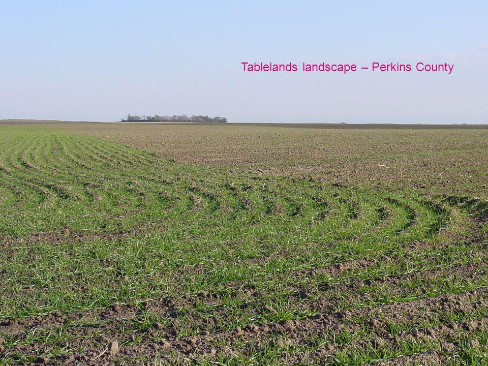Tablelands landscape – Perkins County