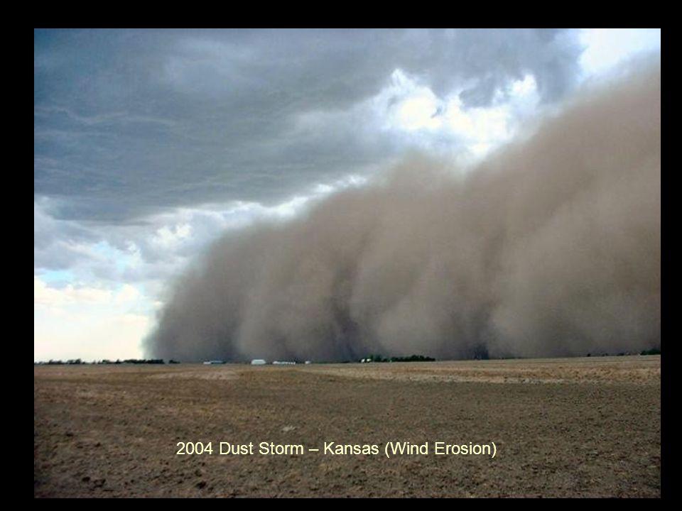 2004 Dust Storm – Kansas (Wind Erosion)
