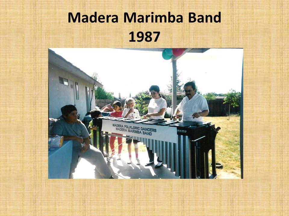 Madera Marimba Band 1987