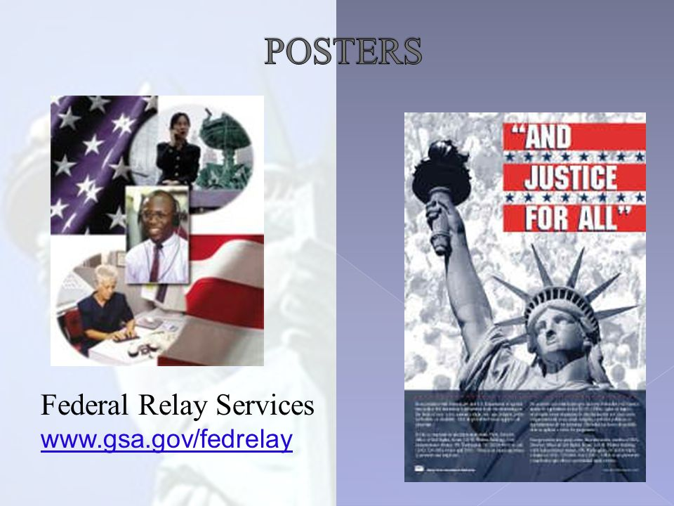 Federal Relay Services www.gsa.gov/fedrelay