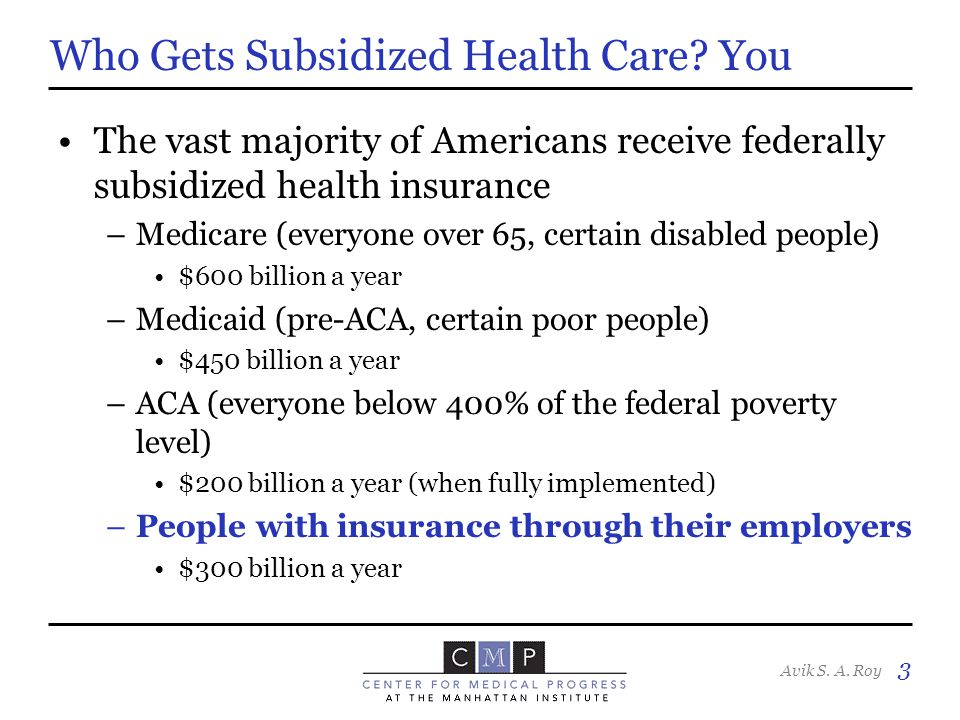 Avik S.A. Roy 4 The Myth of 'Free-Market' U.S. Health Care Source: OECD, WHO In 2010, U.S.