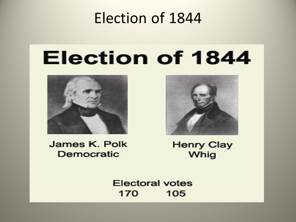 Election of 1844
