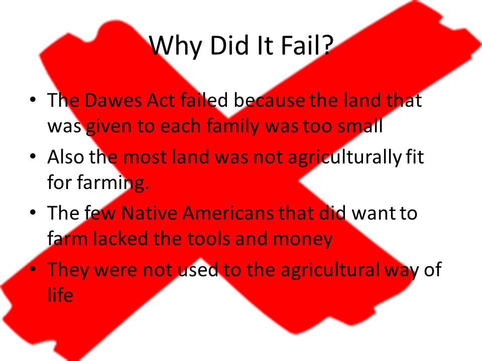 Why Did It Fail.