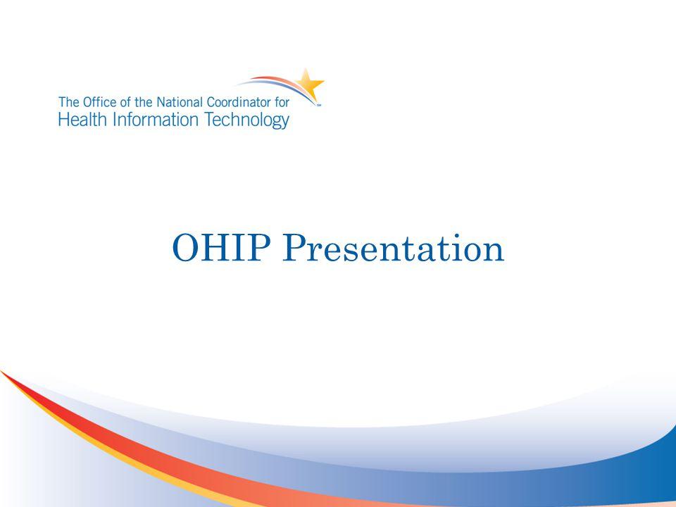 OHIP Presentation