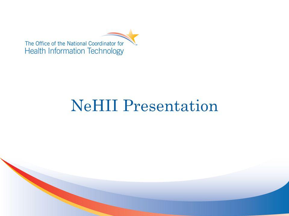 NeHII Presentation