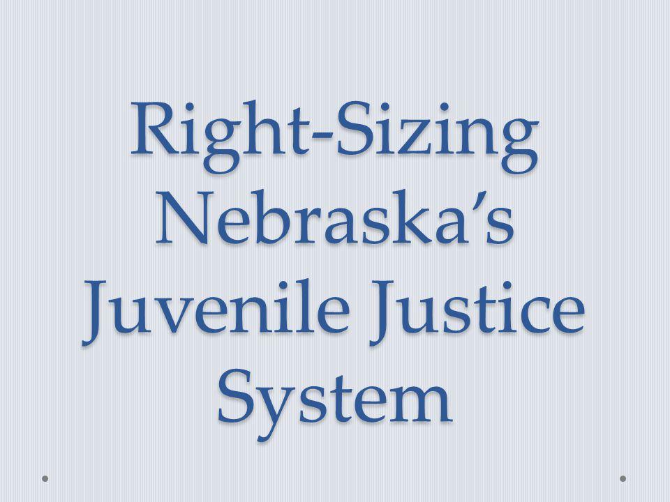 Right-Sizing Nebraska's Juvenile Justice System