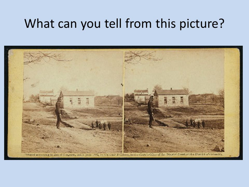 What can you tell from this picture?