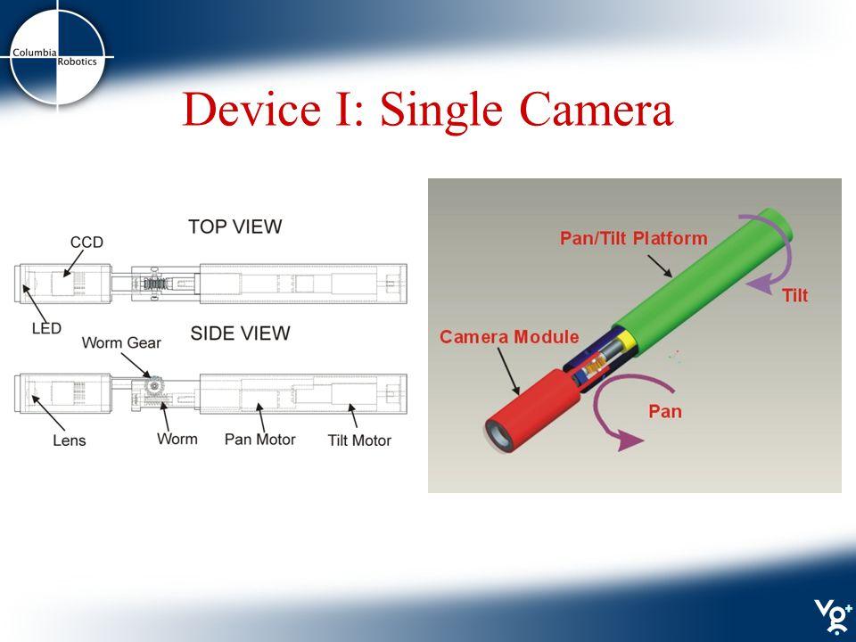 Device I: Single Camera