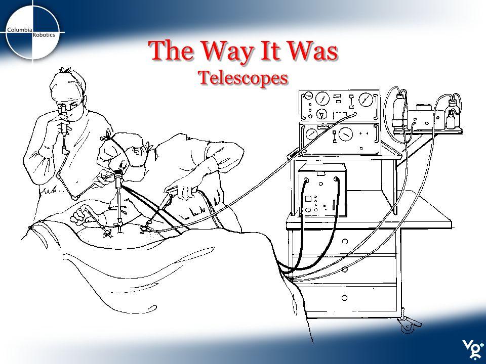 The Way It Was Telescopes