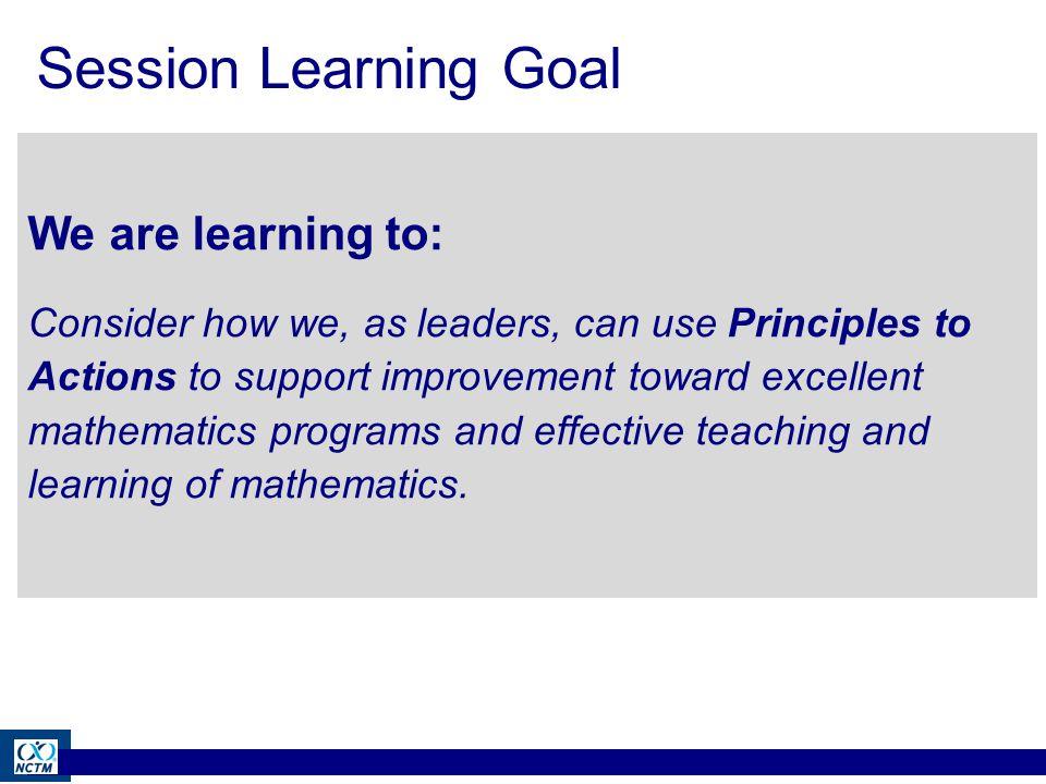 Student Learning of mathematics...