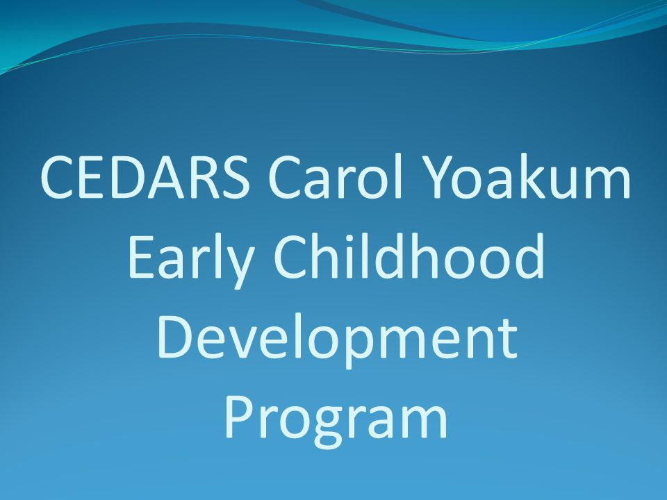 Celebrate the Week of The Young Child April 23-27 th Early Years Are Learning Years