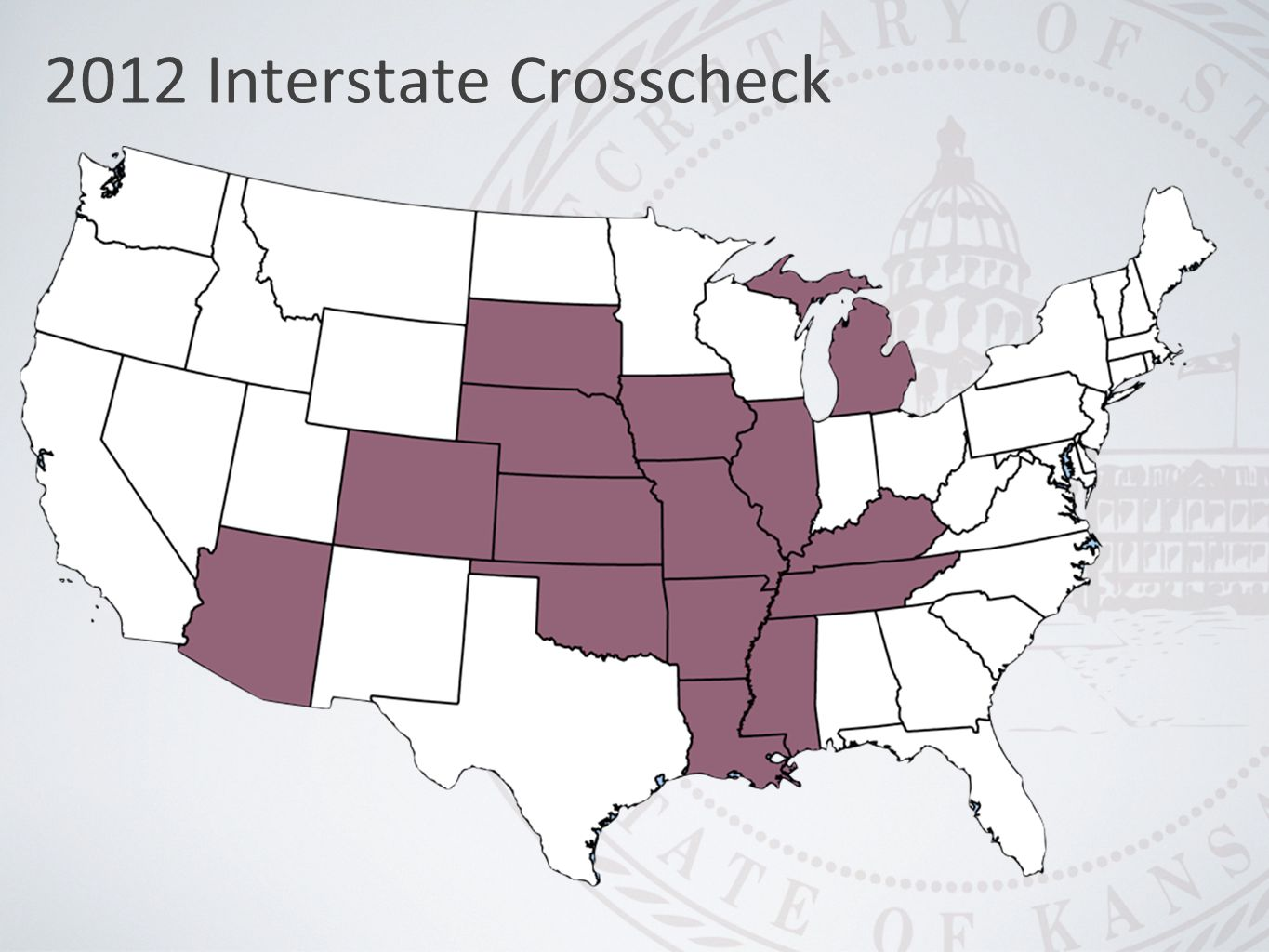 2012 Interstate Crosscheck
