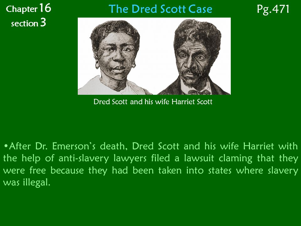 The Dred Scott Case After Dr.