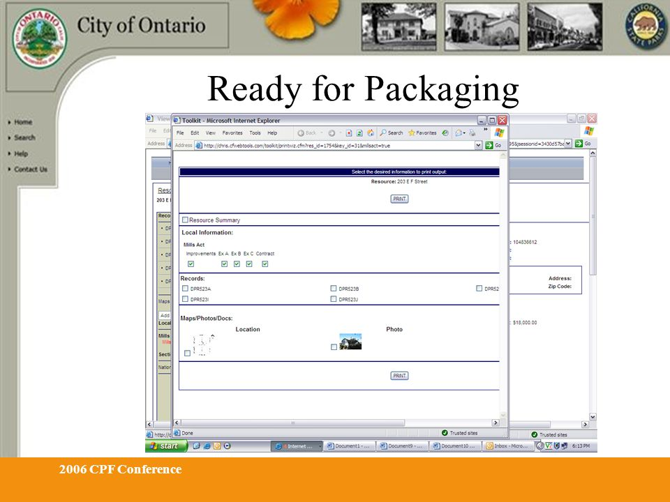 2006 CPF Conference Ready for Packaging