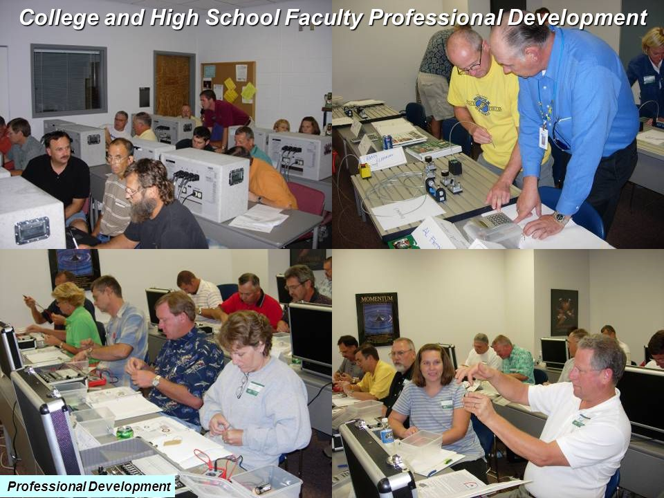 College and High School Faculty Professional Development Professional Development