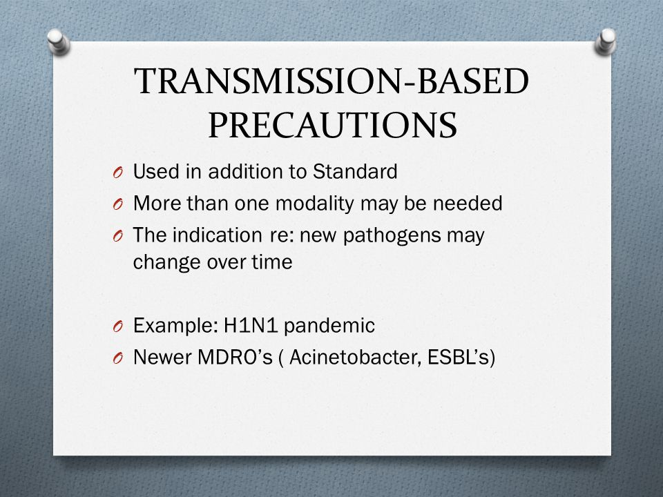 Infection Control Poll#2: O What type of isolation did you use when H1N1 pandemic started.