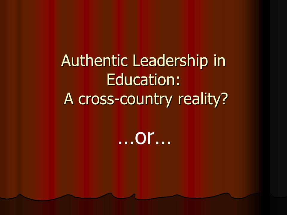 A multi-faceted overarching question is being posed: Who sees what behaviours, when, in which situations, and what effects are perceived with respect to their leaders' behaviours and the effect of those leaders upon the educational remit of the setting?